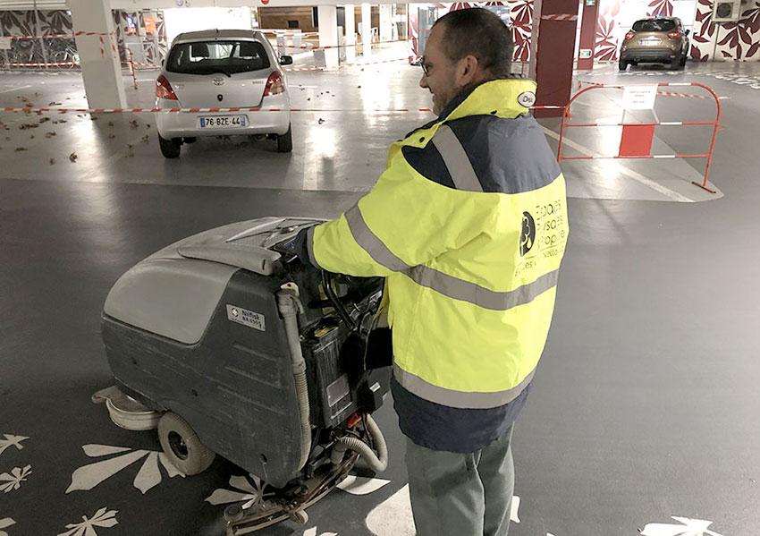 Entretien des parkings - Espaces Paysages Propreté